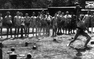 Hermann Görner and Kettlebells