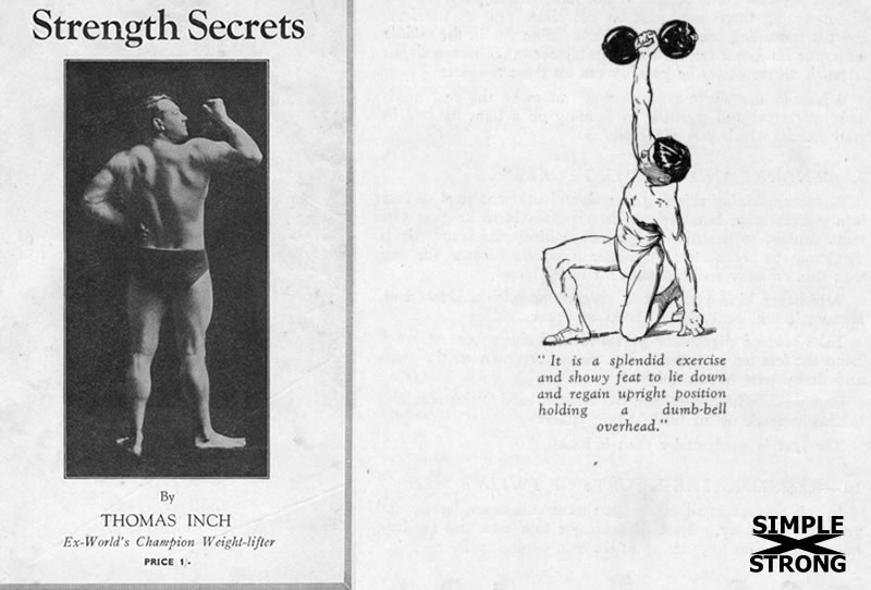 Thomas Inch, Secrets of Strength: Dumbbell Get-up