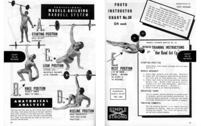"Joe Bonomo: Detailed Training Instructions for ""One Hand Get Up"" (1970)"