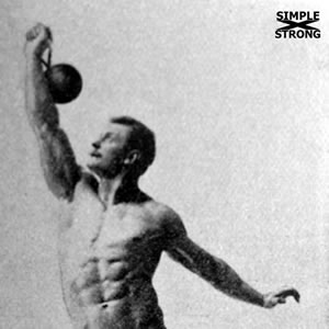 Eugene Sandow Teaches the Kettlebell Swing/Snatch (1894)