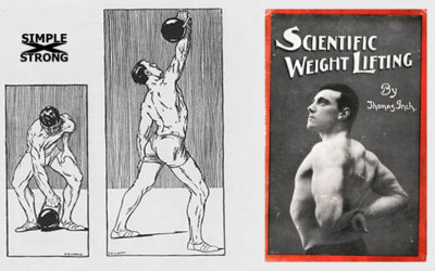 Thomas Inch, Scientific Weight Lifting (1905): Kettlebell Snatch