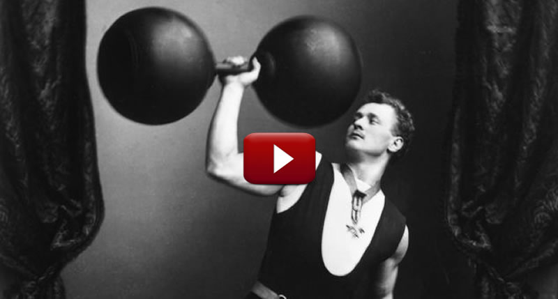 Eugene Sandow [Video Documentary]