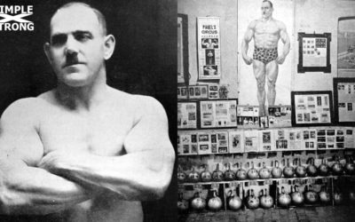 Görner the Mighty and his Incredible Kettlebell Two Hands Anyhow Record