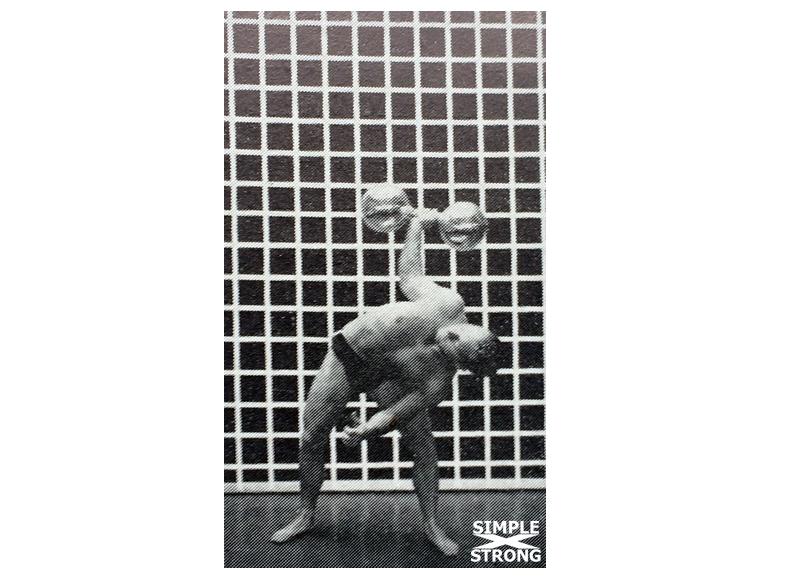 Siegmund Klein Teaches the Dumbbell Bent Press (1938)