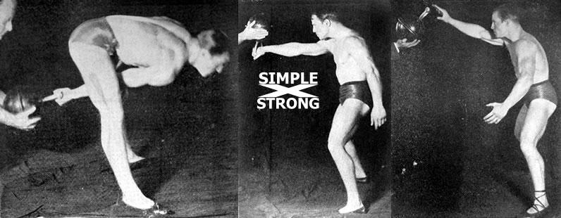 Charles MacMahon: Kettlebell Juggling (1927)