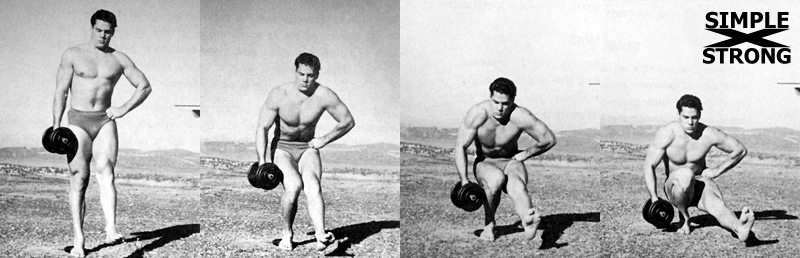 How to Get Strong Legs With Dumbbells