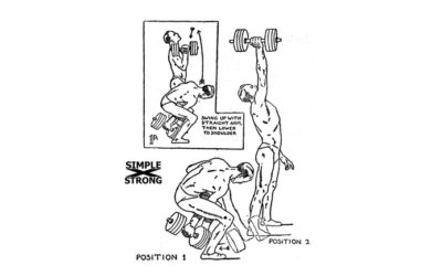 Inch's Dumbbell Program Minimum for Boxing [1 of 2]: The Dumbbell Swing