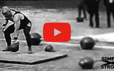 Barbell & Kettlebell Lifting at the 1913 Olympics [RARE VIDEO]
