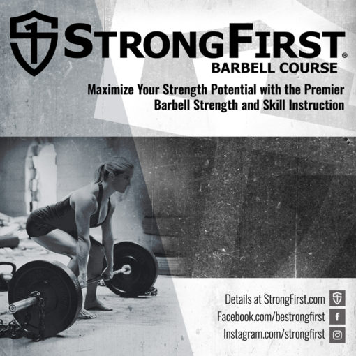 StrongFirst Barbell Course - Hamburg, Germany, September 21, 2019