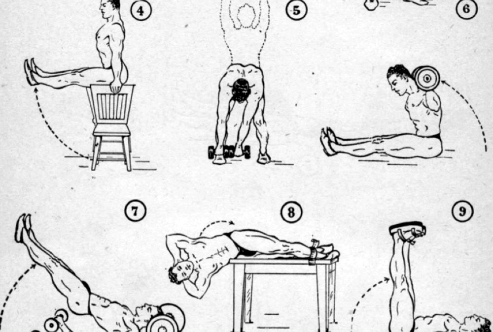 Orlick/Weider: Abdominal Exercises for Strength and Power (1944)