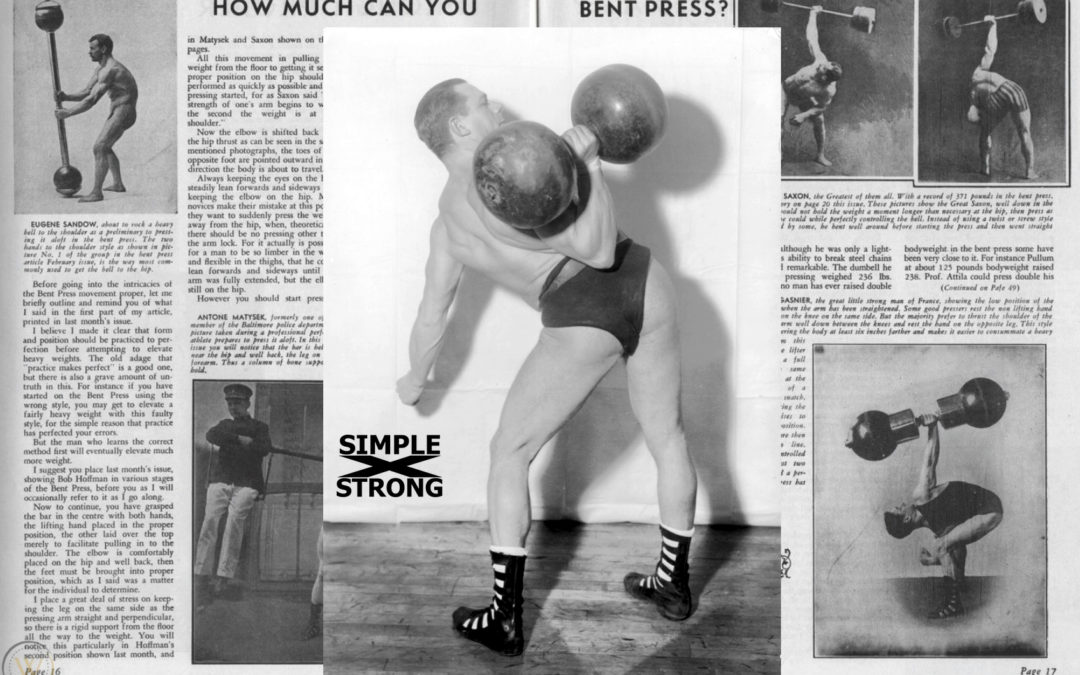 Siegmund Klein: How Much Can You Bent Press (1936)